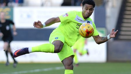 Richard Brindley, who was offered a new contract by the U's this summer. He enjoyed a fine season la
