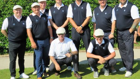 Flempton�'s Hambro Cup players, wearing their new caps as part of their uniform, were outgunned at W