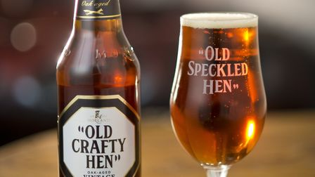 Old Crafty Hen from Greene King