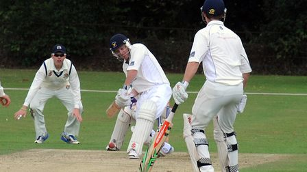 Michael Griggs, who top-scored with 78 in Frinton's four-wicket defeat at Swardeston. Picture: ANDY