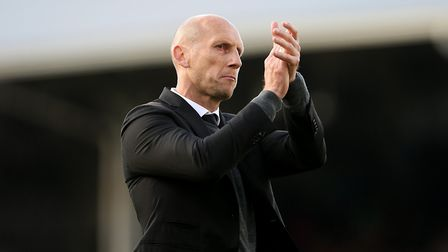 Jaap Stam guided Reading to third and the Play-Off Final in his first season as manager. Photo: PA