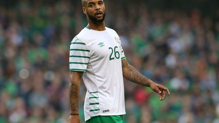 David McGoldrick is a doubt for the Republic of Ireland with a knee 'niggle'. Photo: PA