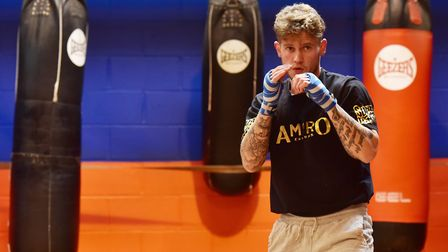Sudbury boxer, Billy Bird, was due to co-headline the Braintree boxing event