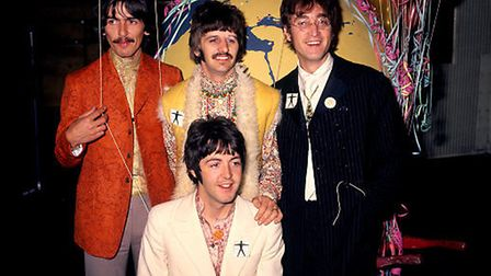The Beatles pictured during the summer of 1967 just as Sergeant Pepper was released. Picture: PA