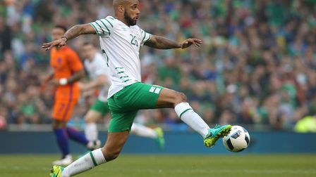 Ipswich Town's David McGoldrick played the full game against Mexico. Picture: PA SPORT