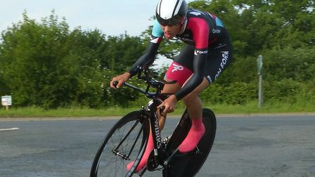 Woodbridge rider Ollie Jones was fifth at Stowmarket, as well as a winner at the Eagles Crits. Pictu