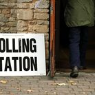 A polling station. Picture: CHRIS RADBURN/PA WIRE