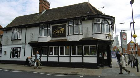 The Plough, in Dog's Head Street, Ipswich which is due to re-open on Friday June 16, after a £28,0,0