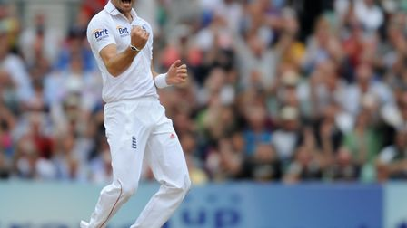 James Anderson is perhaps our greatest-ever swing bowler - but could he do it with a cheap ball? Pic
