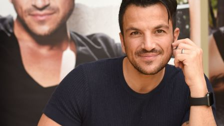 Peter Andre reportedly doesn't let kids Junior and Princess use social media when at his home. Photo