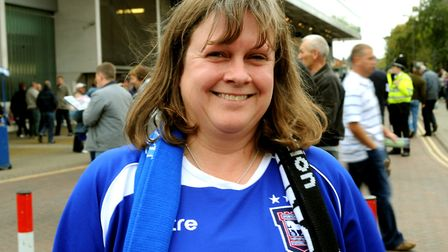 Liz Edwards has stepped down from her role as chair of the Ipswich Town Official Supporters' Club. P