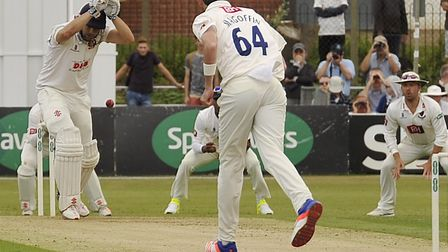Essex's Nick Browne in action. Picture: ARCHANT