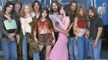 Stillwater with their camp followers, called Band Aides, in Cameron Crowe's semi-autobiographical Al