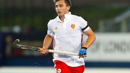 Harry Martin in action for England. Photo: Simon Cooper, PA