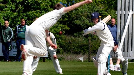 Martyn Cull, who scored his second century of the season in the EAPL to help Copdock & OI to victory