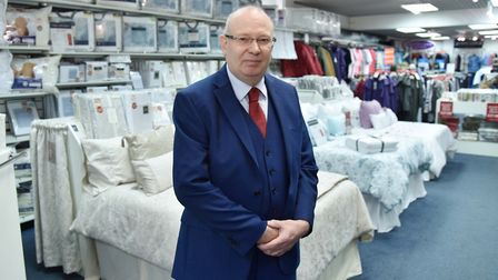Kevin Baldwin at the company�s Ipswich store, within the Sailmakers shopping centre. Picture: James