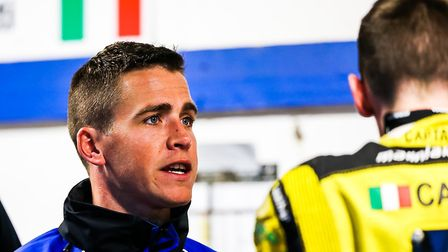 Ipswich Witches team manager Ritchie Hawkins, positive views aheat of the Suffolk team's clash with
