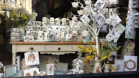 Ipswich retailer, Bromley & Co has scooped a Royal Worcester Wrendale Designs Window Display Competi