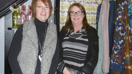 Bromley & Co, cards, gift and interiors shop in The Thoroughfare, Ipswich. Business partners Sharon
