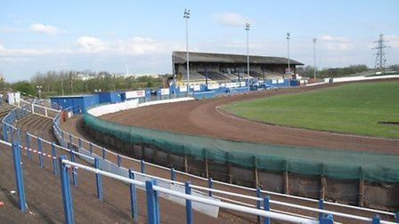 The big Derwent Park bowl at Workington, where we didn't do very well on Saturday.