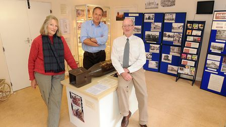 The Long Melford Heritage Centre will be displaying old photographs to celebrate Suffolk Day. Left