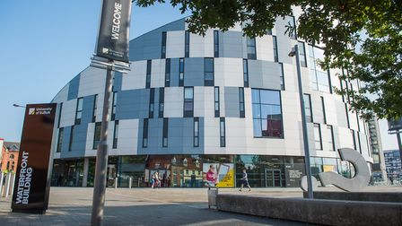 University of Suffolk, Ipswich. Picture: ARCHANT