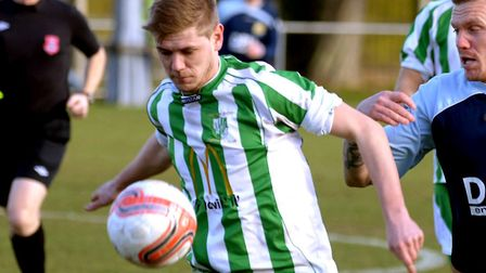 New Whitton man, Scott Marjoram, pictured during his first spell with the club.