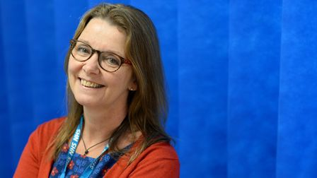 Tracey Stewart, learning disability liaison nurse at NSFT. Picture: NSFT