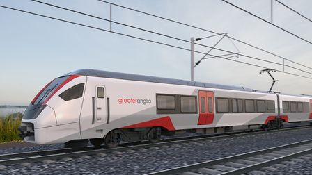 The new InterCity train being built for Greater Anglia by Stadler in Switzerland. Picture: GREATER A