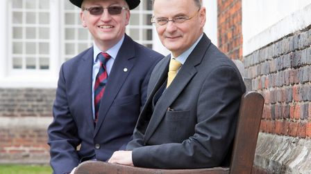 From left, David King and Anthony Wooding of Albert Square Mediation (ASM) Suffolk.