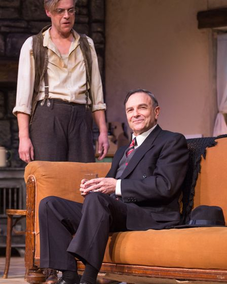 Brian Capron and Gary Turner star in Talking Scarlet's production of Strictly Murder. Picture: TALKI