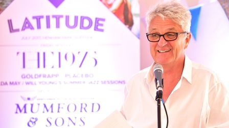 Melvyn Benn talks to the media at the Launch of the 2017 Latitude fesival. Picture: NICK BUTCHER