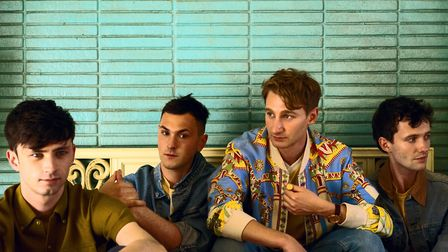 Glass Animals, performing at this year's Latitude Festival. Photo: Contributed