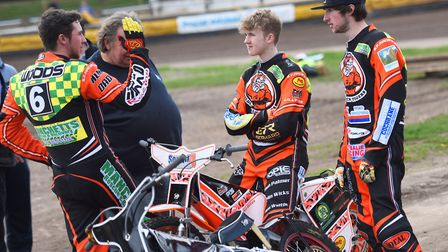 Mildenhall have been rocked by a wrist injury to Sam Woods. Picture: GREGG BROWN