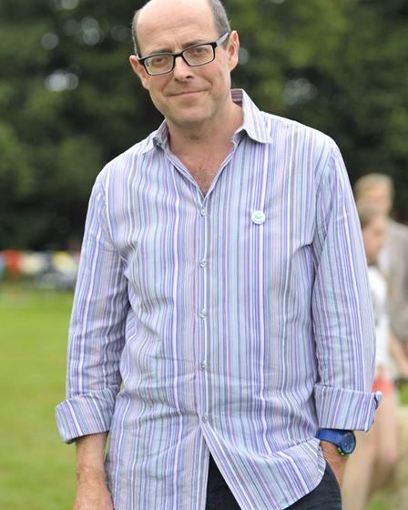 The BBC's Nick Robinson, pictured here at the Orford Fete, has produced a film for the campaign. Pi