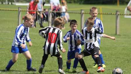 Action from the KBB Suffolk FA Grassroots Festival at Gainsborough Sports Centre in Ipswich on Satur