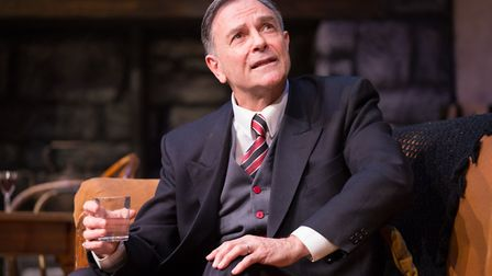 Brian Capron stars in Talking Scarlet's production of Strictly Murder. Photo: Talking Scarlet