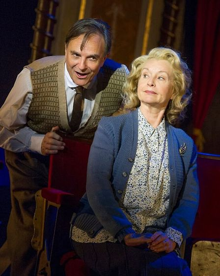 Brian and Liza Goddard in The Smallest Show on Earth, a new musical with songs by Irving Berlin, whi