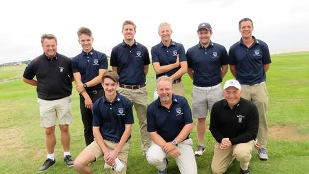 Bungay battled hard in their Stenson Shield match at Felixstowe Ferry in windy conditions that were