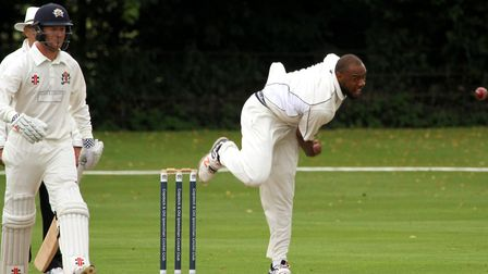 Merv Westfield, who took four wickets in Frinton's victory over Burwell in the EAPL on Saturday. Pic
