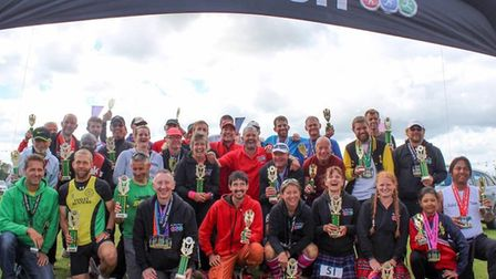 Some of the runners from last year's Great Barrow Challenge 10 in 10