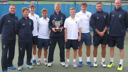 Culford School's under 18 team won the LTA National Schools Team Tennis Championships for the first