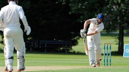 Dominic Manthorpe, who top-scored with 49 for Bury in their drawn match against Horsford. Picture: P
