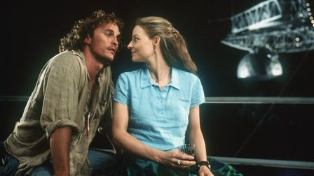 Jodie Foster and Matthew McConaughey star in Robert Zemeckis' thoughtful science fiction drama, Cont