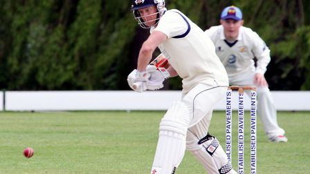 Martyn Cull, who scored a fine 123 not out in Copdock & OI's draw against Great Witchingham.
