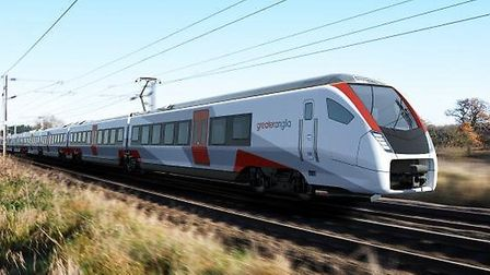 The doors of the new trains coming to Greater Anglia will be controlled from the driver's cab. Pictu