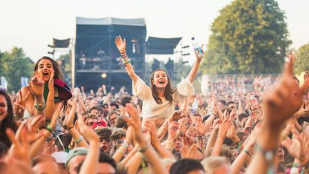 Music lovers enjoy a previous year's Latitude festival. Tickets to such events can be pricey, but it