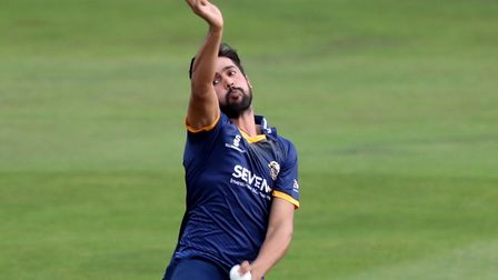 Essex's Mohammad Amir was hit for 23 off his first over.