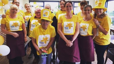 Staff at Perrywood Garden Centre and Nurseries have chosen Marie Curie as their charity of the year