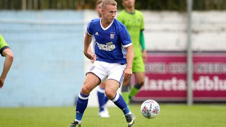 Ipswich Town's Danny Rowe in action against Drogheda. Photo: �INPHO/Ryan Byrne